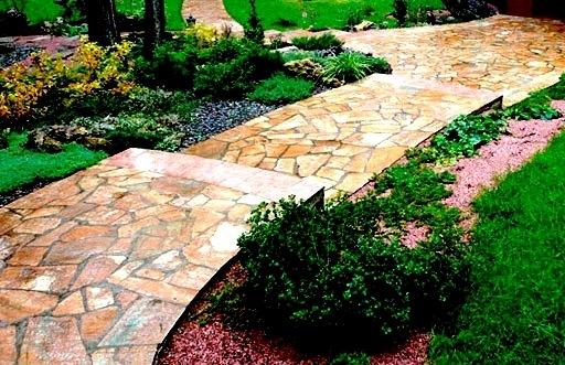 Сланець природний камінь, опис, фото, застосування в дизайні саду