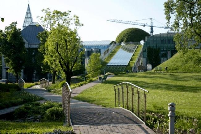 Сад на даху варшавської бібліотеки