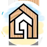 лого дерев'яні будинки