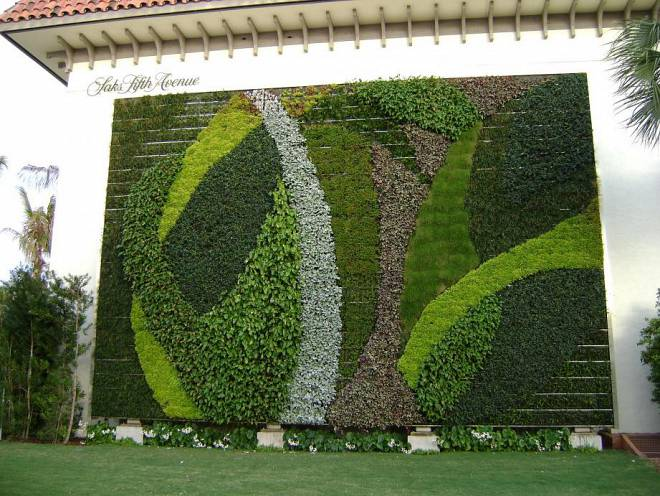 Вертикальні сади фірми GSky