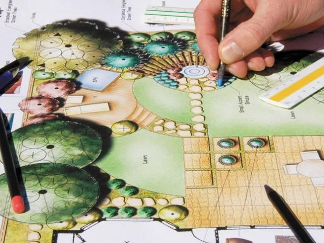 Перший етап ландшафтного проектування – робота над планом