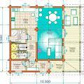 2014 - Дачный дом из клееного бруса - 2