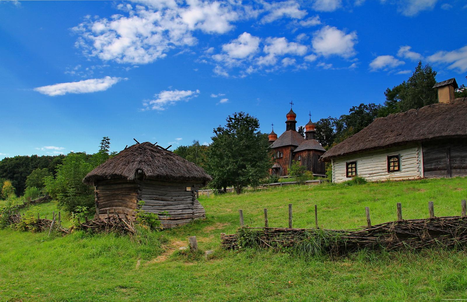 Фото украинского села елена беркова