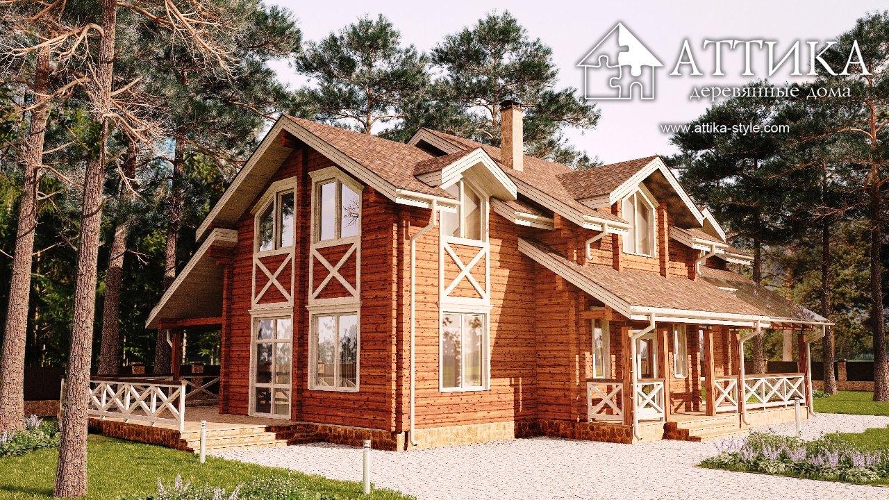 7 Мифов о строительстве деревянных домов – пресс релиз от компании АТТИКА