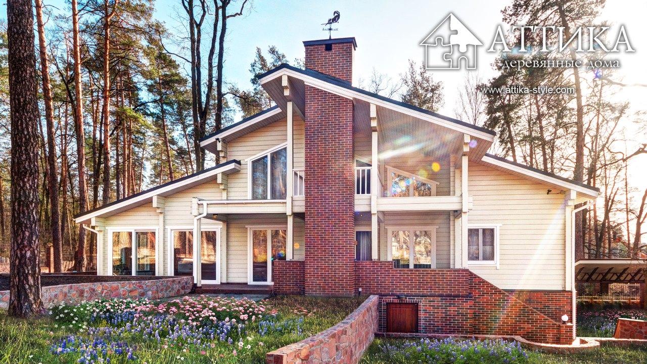 Заказывайте строительство деревянных домов от компании АТТИКА