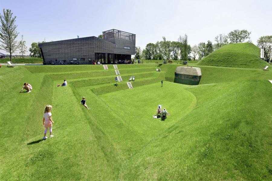 Як фортеця Werk aan 't Spoel стала парком Кулемборг, Нідерланди