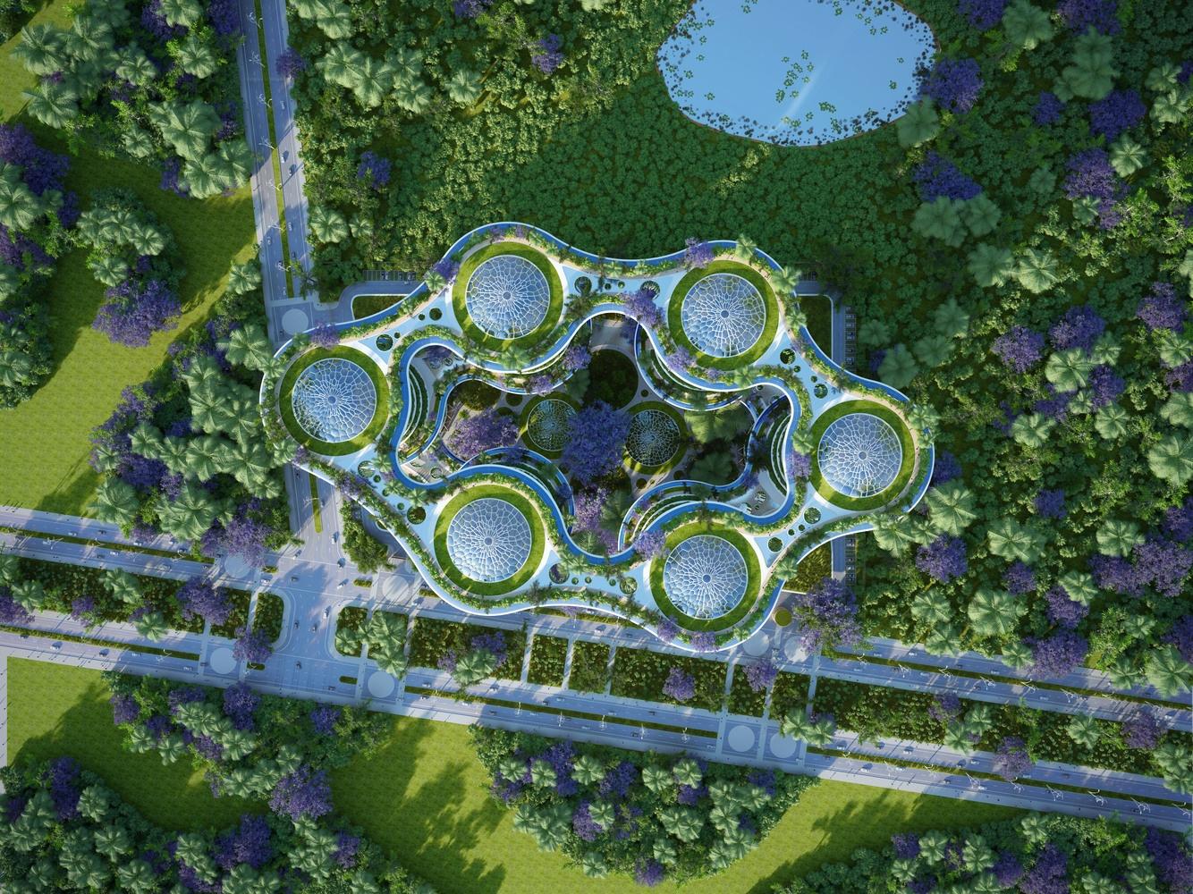 Футуристичне еко поселення в передмісті Нью-Делі