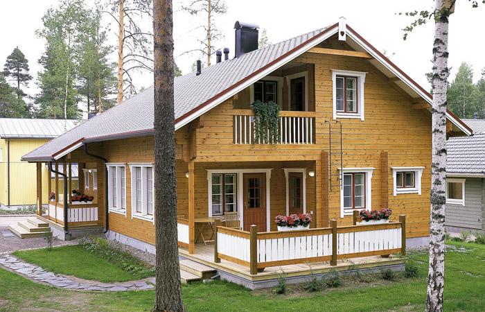 Причин чому дерев яні будинки будуть