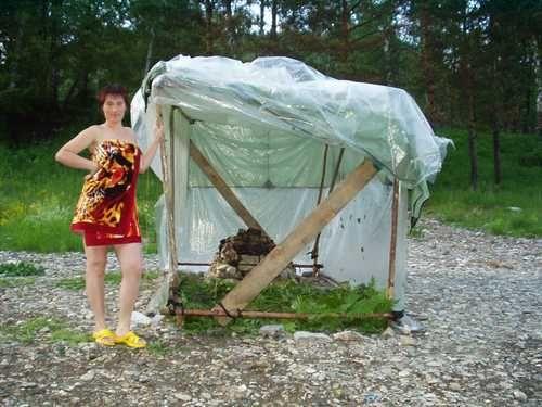Как сделать палатку своими руками на природу