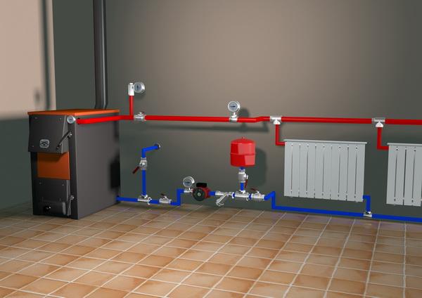 Системы отопления, собранные