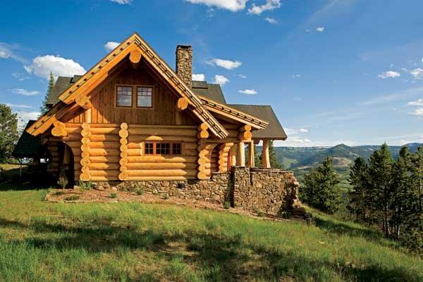 При строительстве сруба дома под ключ цена очень важна.