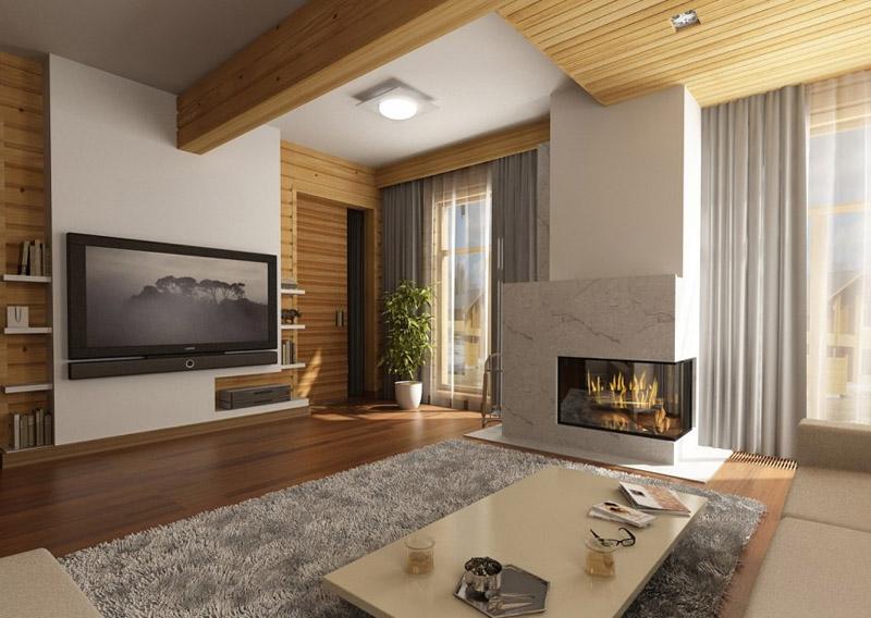Дизайн маленькой комнаты в стиле лофт