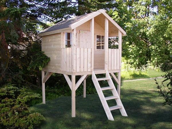 Построить домик ребенку на даче своими руками 592