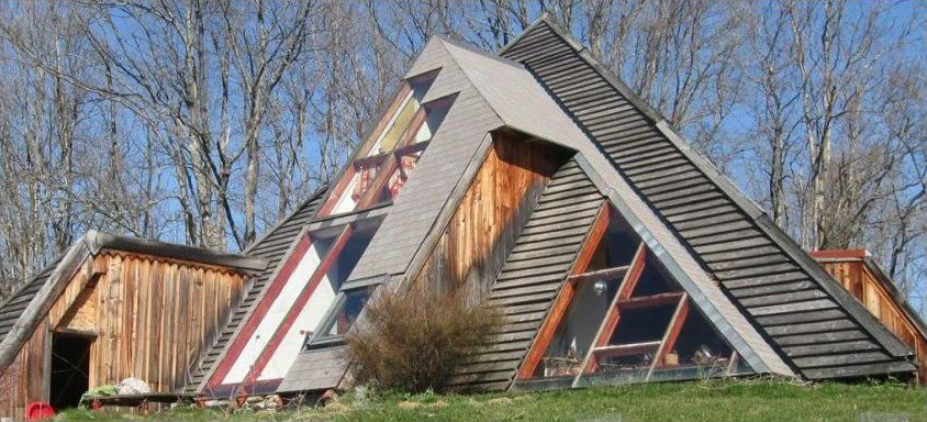 Дом-пирамида своими руками