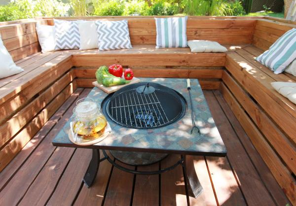Идеи летней кухни на даче своими руками 48