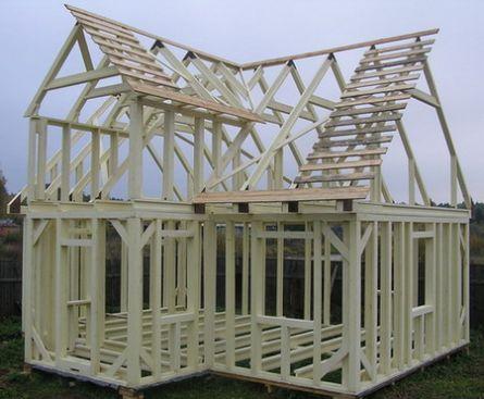 Як довго простоїть каркасний будинок