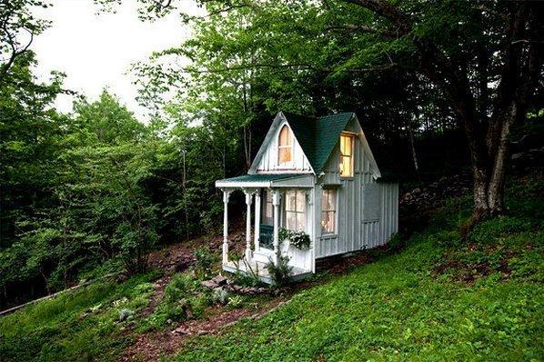Как сделать маленькие домики своими руками