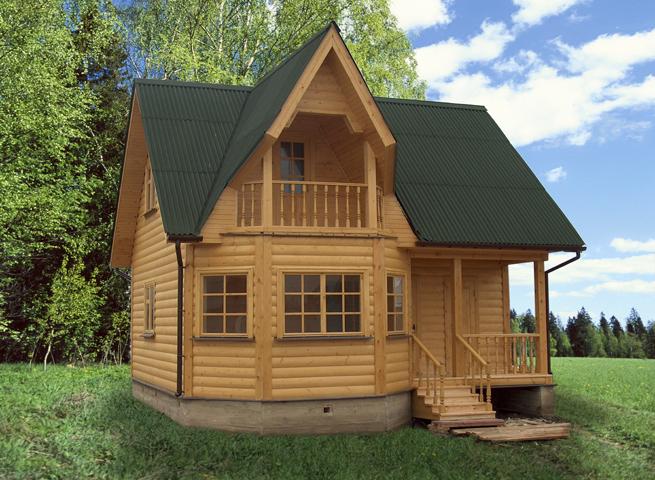 Строительство дачного домика недорого