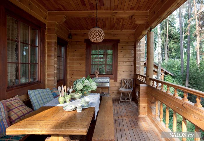 Дизайн террасы дачного дома