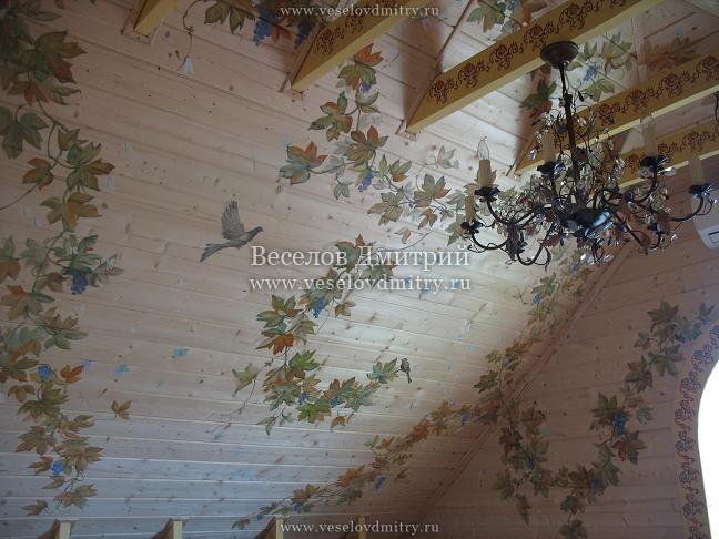 Отделка стен тканью своими руками в деревянном доме