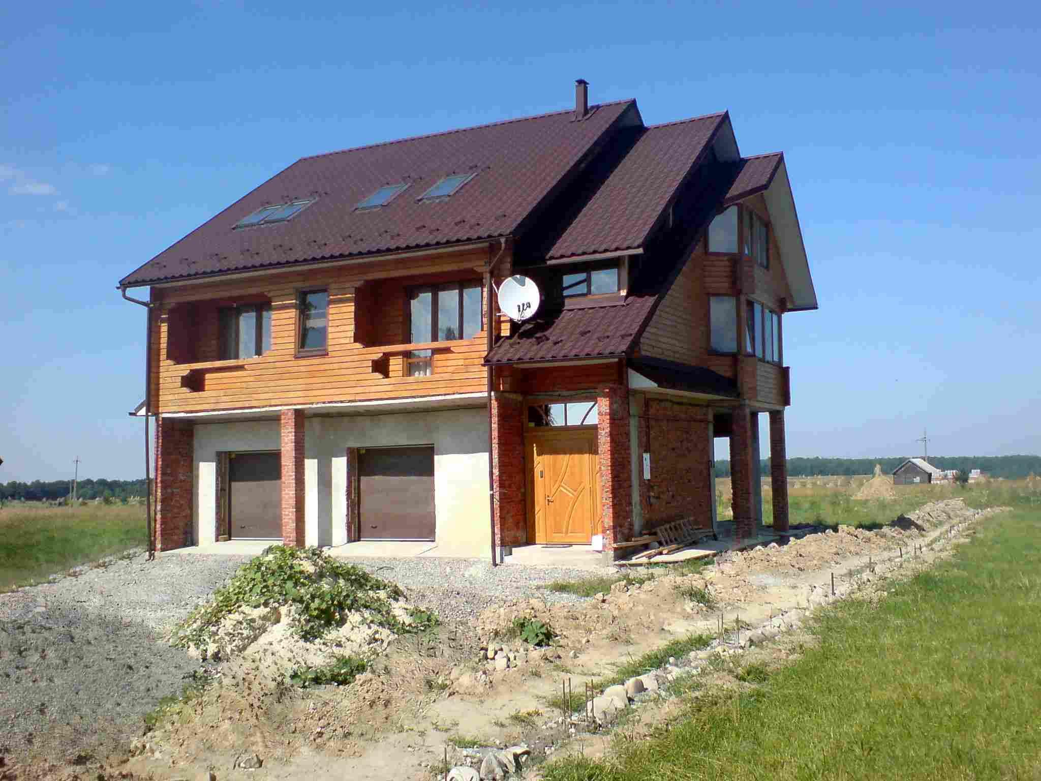 Дерев яні будинки із клеєного бруса