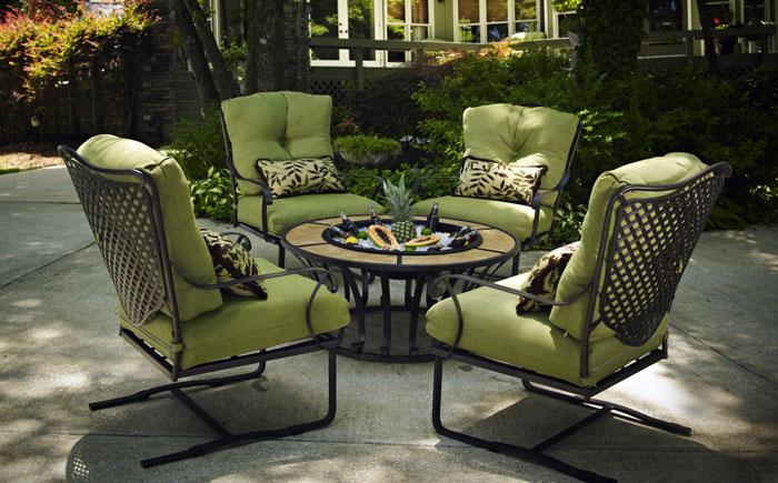 Ковані садові меблі – новий погляд на звичні речі