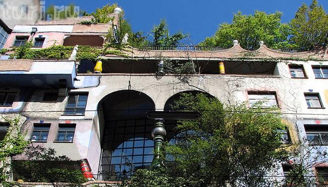 Будинок Хундертвассера (Hundertwasserhaus): головна «зелена» пам'ятка Відня