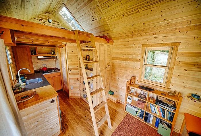 Дачные домики дизайн внутри