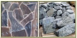 Шунгіт натуральний камінь, фото, опис, використання в дизайні саду