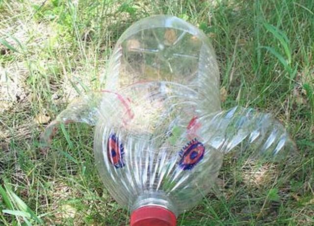 Поделки для дачи из пластиковых бутылок своими руками...