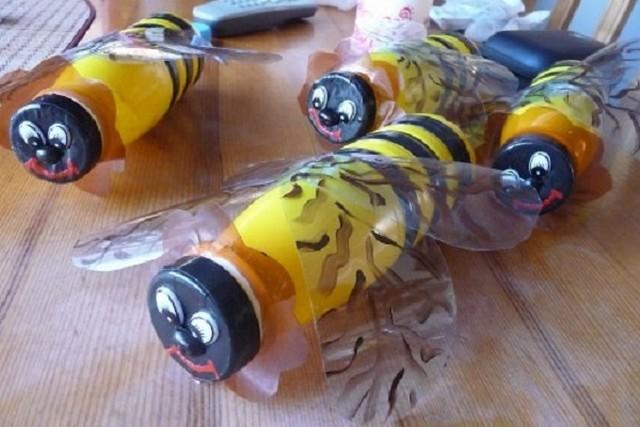 Поделка из бутылки животные 68