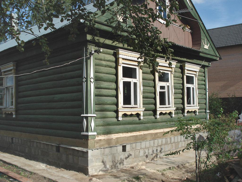 Как сделать старый дом