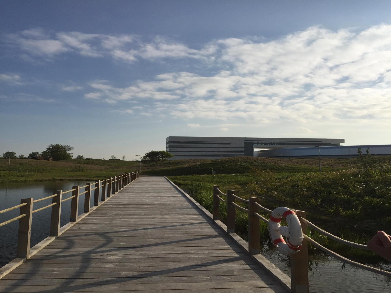 Унікальна природна зона навколо наукового комплексу