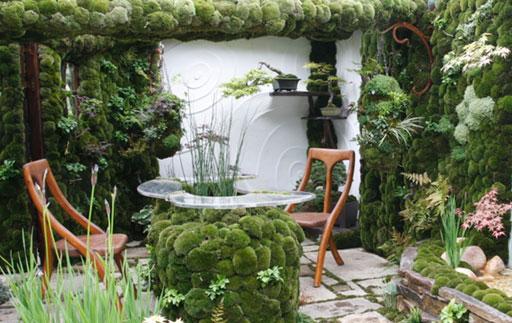 6 способів прикрасити навколишній простір за допомогою моху