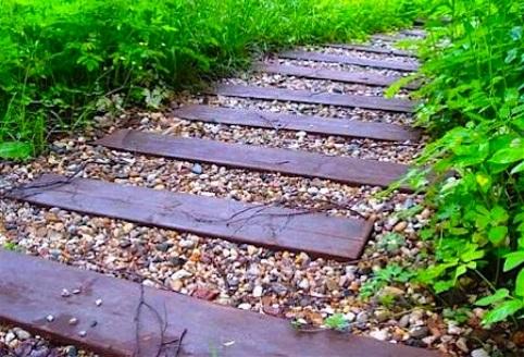 Садовые дорожки поэтапно