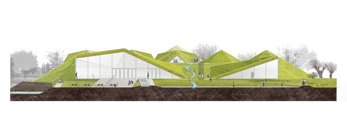 Тенденції: дернова покрівля музею Бісбош