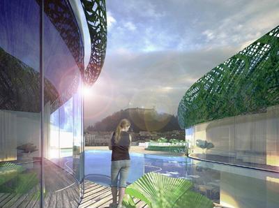 10 незвичайних вертикальних садів
