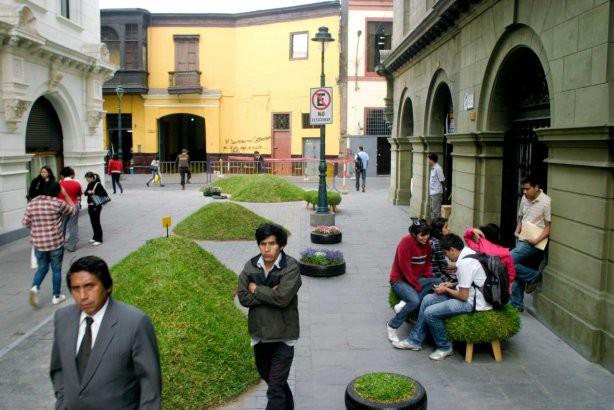 Мікро-парк прямо в центрі міста