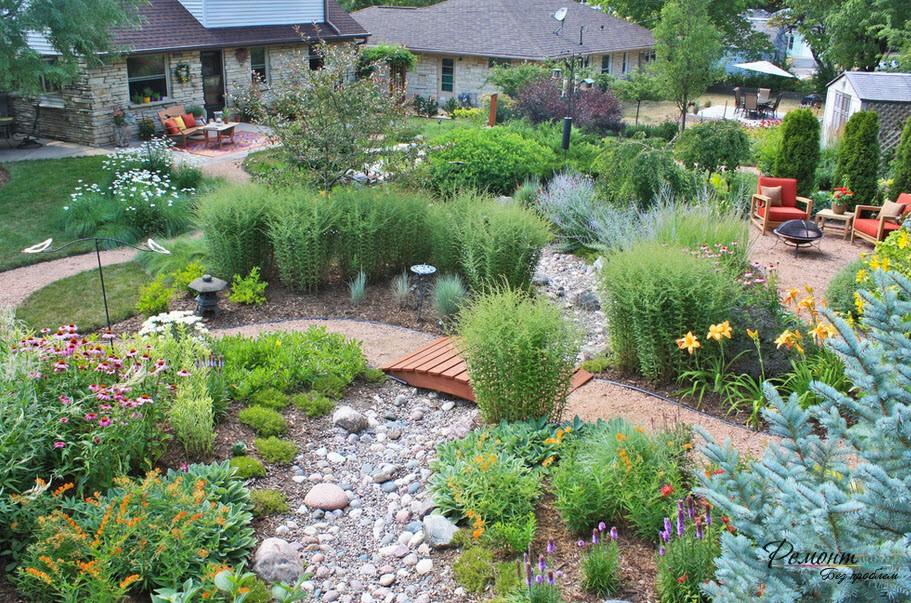 Сухий струмок – ідилія в саду