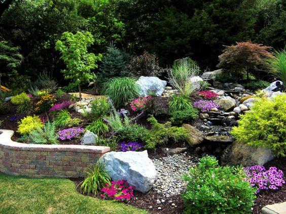 Декоративне каміння у ландшафтному дизайні: фото