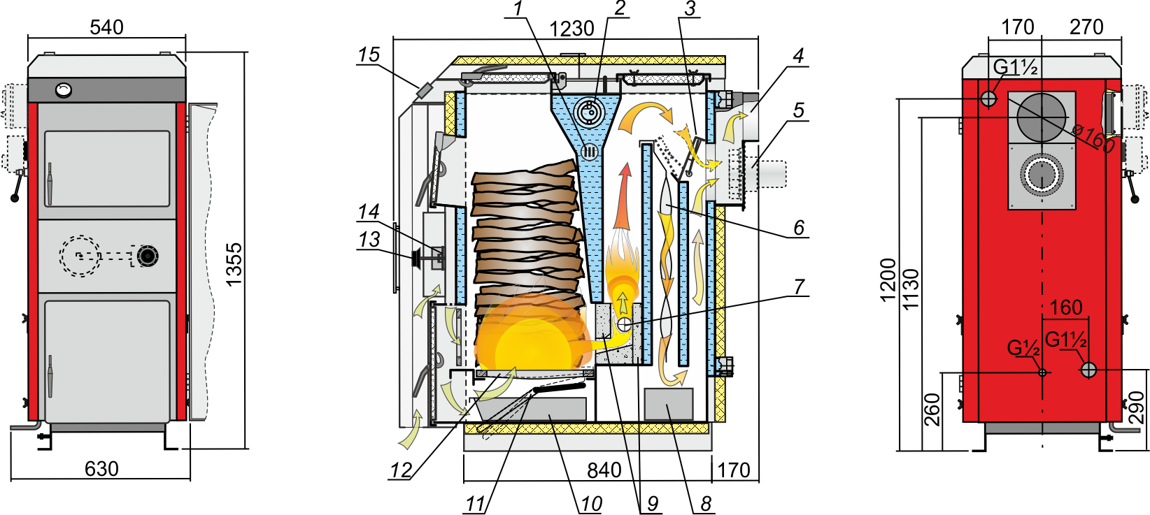 Стабилизатор для котла отопления своими руками