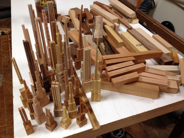 Поделки своими руками из отходов древесины 49