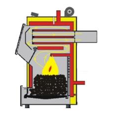 Печь длительного горения на углях своими руками
