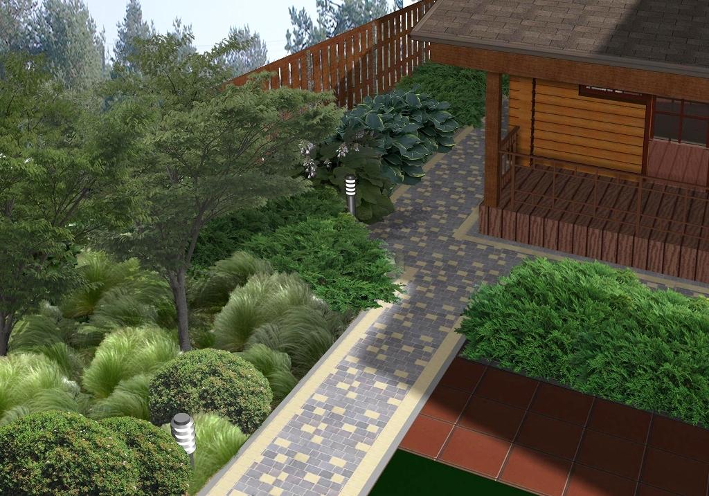 Проект: Ландшафтний дизайн