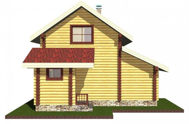 """Баня двухэтажная с балконом - баня """"под ключ"""", заказать или ."""