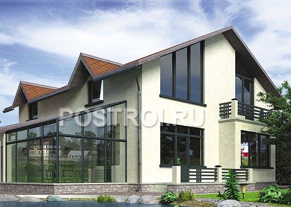 Проект каркасні будинки