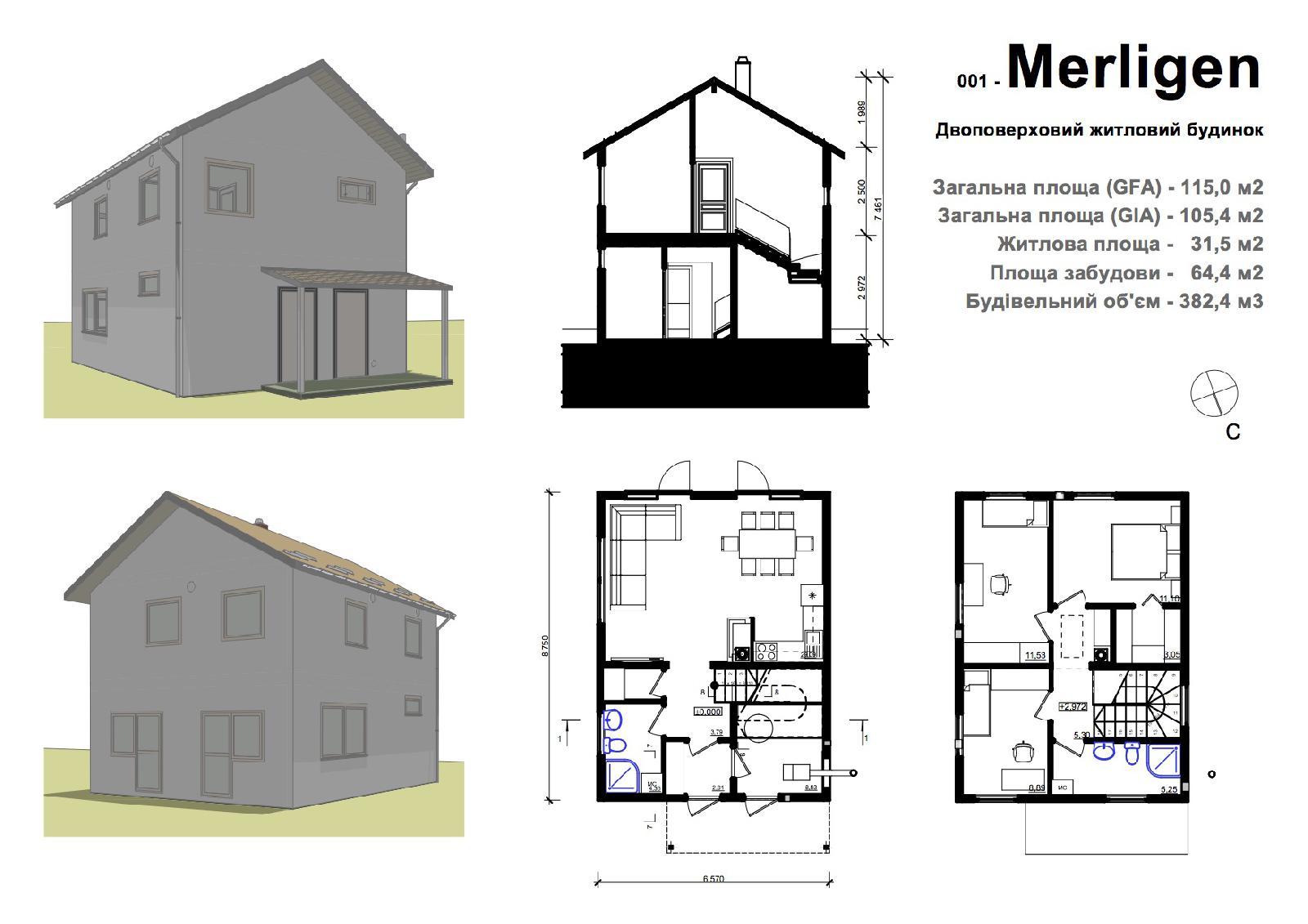 Проект: Дома из sip-панелей