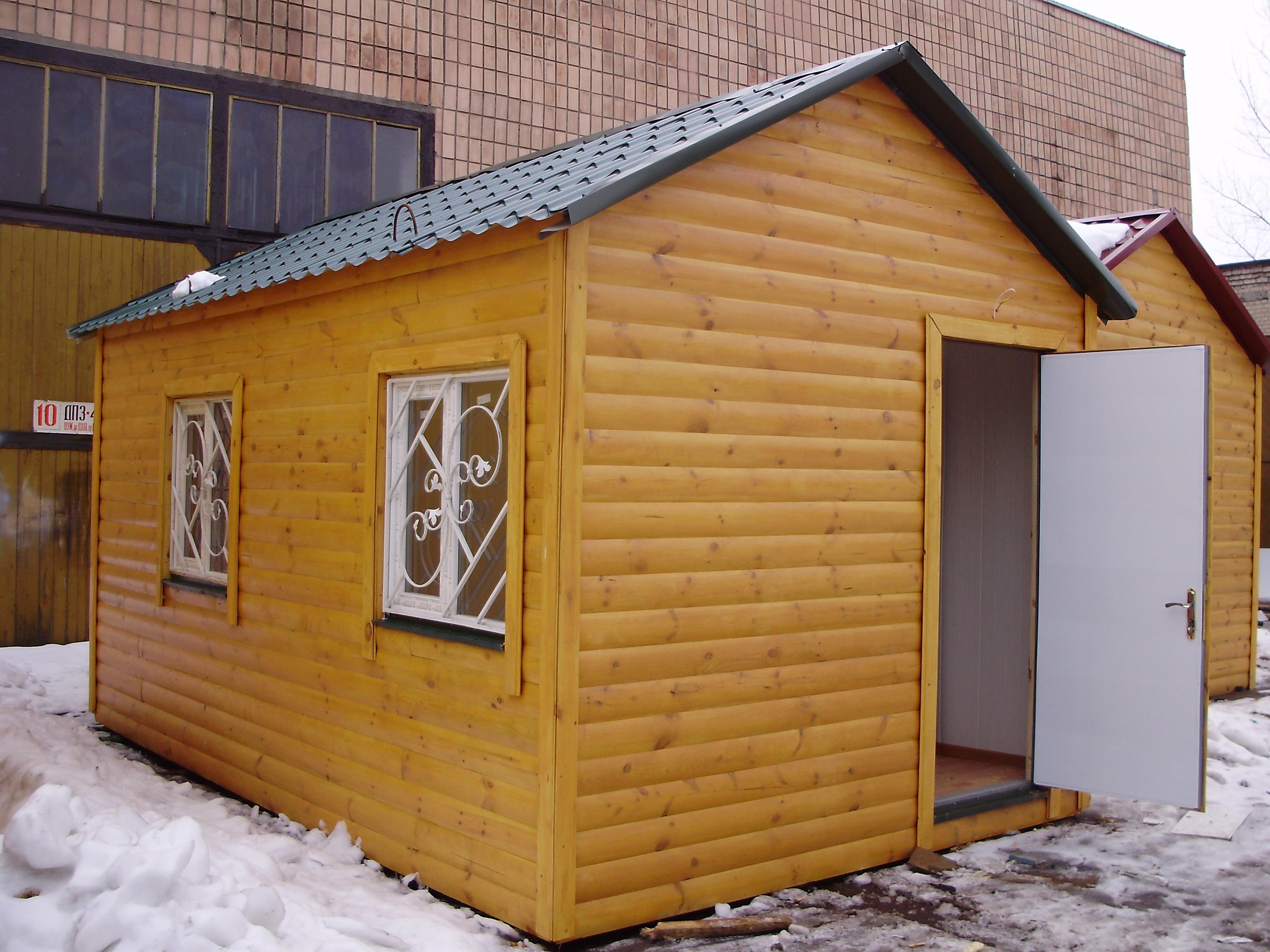 Дачні будинки котеджі бані 4