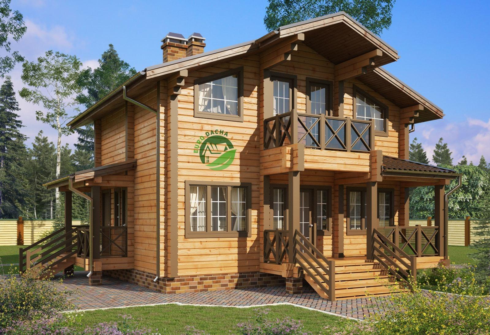 какого дом из бруса по доступной цене акушер